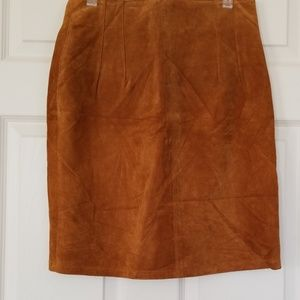 The Limited leather skirt